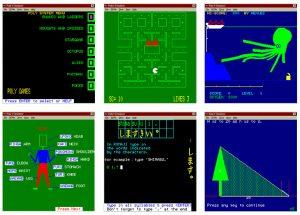 Educational & gaming software